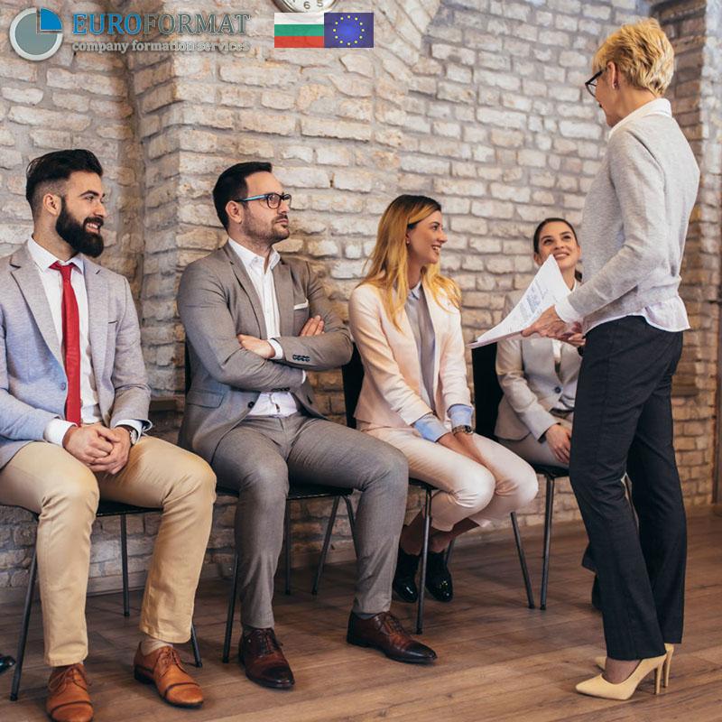 working in Bulgaria