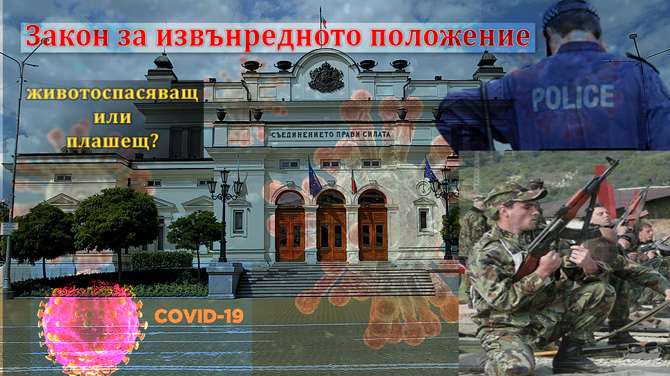Закон за извънредното положение в България