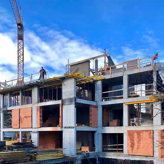 construction in Bulgaria