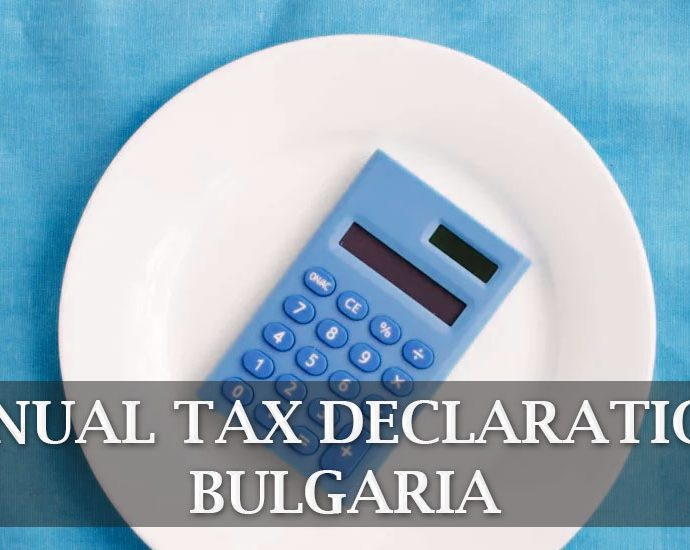 annual tax declarations Bulgaria